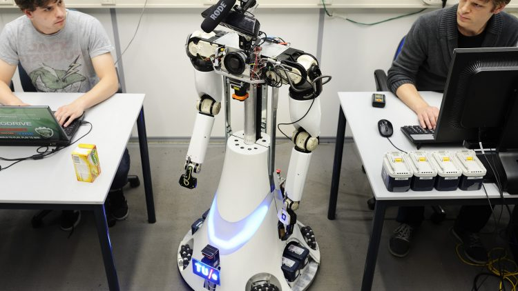 Zorgrobot Amigo, foto van RoboCup2013