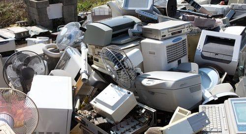 Nieuwe nationale doelstelling e-waste recycling gehaald