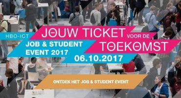 In contact komen met aanstormende ICT-talenten? Kom dan naar het HBO-ICT Job & Student Event