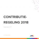 Contributieregeling Nederland ICT 2018